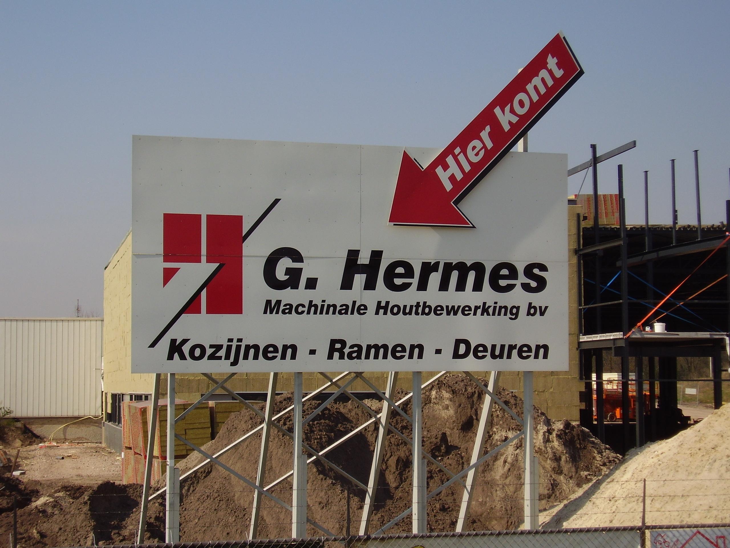 Start bouw pand G. Hermes